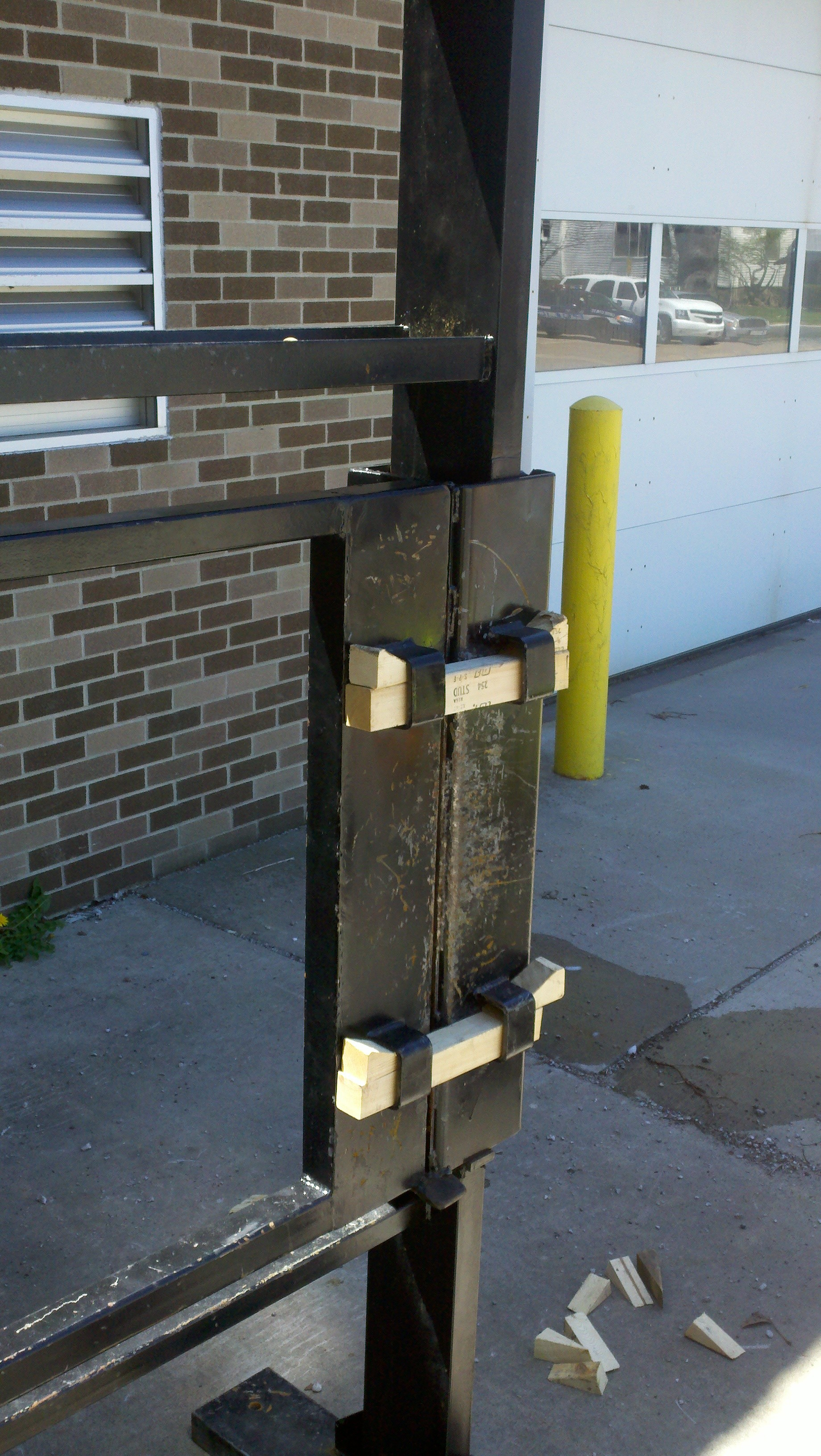 commercial side & Forcible Entry Door Prop |